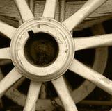 Het wagenwiel Stock Afbeelding