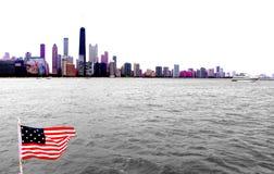 Het wandelen in Chicago royalty-vrije stock foto's