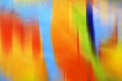 Het wanordelijke gedrag van het leer van kleuren Stock Afbeeldingen