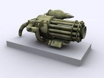 Het wapen van de fantasie royalty-vrije illustratie