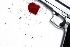 Het Wapen van de moord stock afbeelding
