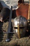 Het wapen van de ridder Royalty-vrije Stock Afbeeldingen