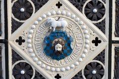 Het Wapenschild van de Poort van de Zaal van het stuk, Halifax Stock Foto