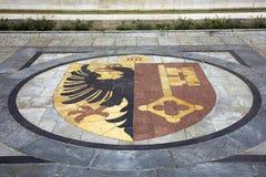 Het wapenschild van Genève Royalty-vrije Stock Foto's