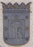 Het wapenschild van Madrid Royalty-vrije Stock Foto