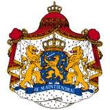 Het wapenschild van Nederland Royalty-vrije Stock Afbeeldingen