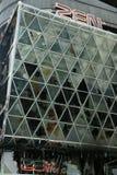 Het warenhuis van Zen, centralworld gebrand. royalty-vrije stock afbeelding