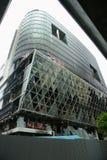 Het warenhuis van Zen, centralworld gebrand. royalty-vrije stock foto