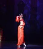 """Het warme ballet """"One Duizend Één Nights† van de buikdans Royalty-vrije Stock Foto"""