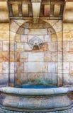 Het warme mineraalwater Karlovy varieert Karlsbad - Tsjechische Republiek Stock Foto