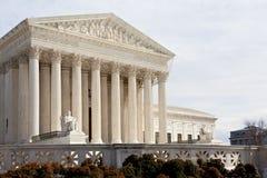 Het Washington DC de V.S. van het Hooggerechtshof stock foto's