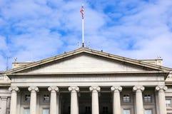 Het Washington DC van de Afdeling van de Schatkist van de V royalty-vrije stock foto's
