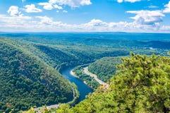 Het Water Gap van Delaware royalty-vrije stock fotografie