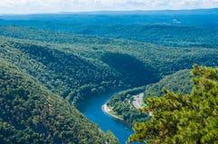 Het Water Gap van Delaware Royalty-vrije Stock Afbeeldingen