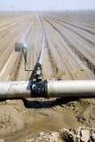 Het water geven van het landbouwbedrijf royalty-vrije stock fotografie