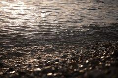 Het water glanst Royalty-vrije Stock Foto