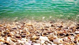 Het water glanst Stock Foto's