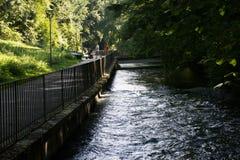 Het water in het park Royalty-vrije Stock Afbeeldingen