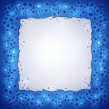 Het water laat vallen frame Royalty-vrije Stock Afbeelding