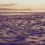 Het water uitstekende toon van het onduidelijke beeld Royalty-vrije Stock Foto