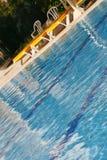 Het water van Bluew in pool Stock Fotografie