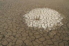 Het Water van de behoefte in Gebarsten Aarde Royalty-vrije Stock Foto's