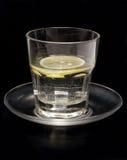 Het water van de citroen Stock Foto's