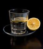 Het water van de citroen royalty-vrije stock foto