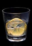 Het water van de citroen royalty-vrije stock fotografie
