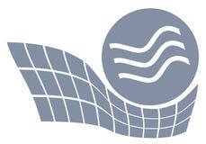 Het water van de energie Stock Foto