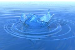 Het water van de nevel royalty-vrije illustratie
