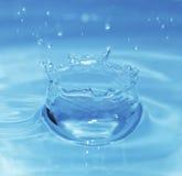 Het water van de plons Stock Foto