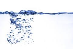 Het water van de plons Royalty-vrije Stock Foto's