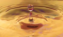 Het water van de plons Stock Afbeelding