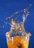 Het water van de plons en van de nevel. royalty-vrije stock foto's