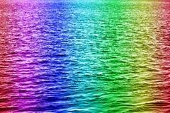 Het water van de regenboog Royalty-vrije Stock Fotografie