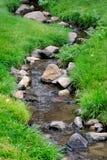 Het Water van de rivier op Rotsen Stock Afbeelding