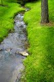 Het Water van de rivier op Rotsen Royalty-vrije Stock Foto's