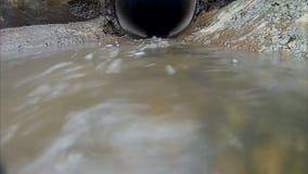Het water van de stroom stock footage