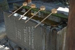 Het water van de tempel Stock Foto