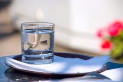 Het water van het glas ?f Royalty-vrije Stock Foto