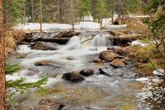 Het water van het onduidelijke beeld Royalty-vrije Stock Foto