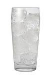 Het Water van het sodawater dat met het knippen van weg wordt geïsoleerdc Royalty-vrije Stock Afbeeldingen