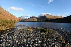 Het Water van Wast, Cumbria Stock Afbeeldingen