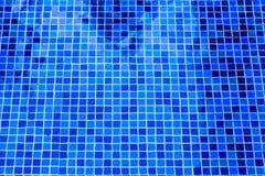 Het waterachtergrond van het foto zwembad Royalty-vrije Stock Foto's