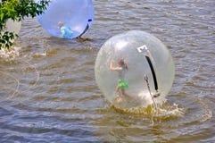 Het Waterbal van Praag, Tsjechische Republiek Stock Afbeeldingen