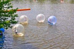 Het Waterbal van Praag, Tsjechische Republiek Stock Foto