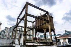 Het Watercontainer van Shanghai stock foto's