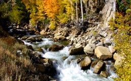 Het waterdalingen van de cascade Royalty-vrije Stock Afbeeldingen