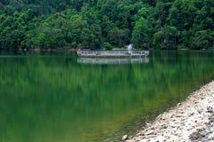 Het waterdam van luchtitam Stock Afbeeldingen